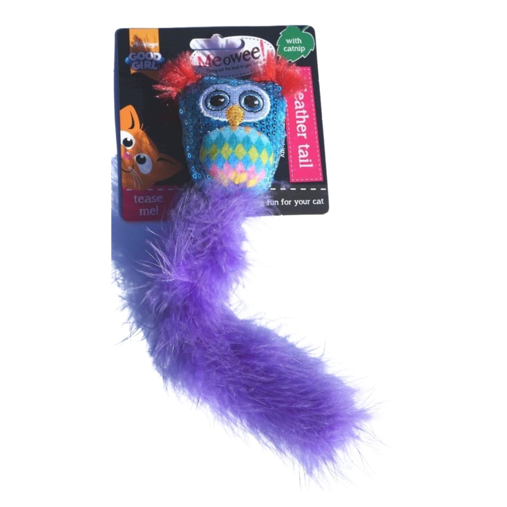 "Owl Cat Toy 10 """