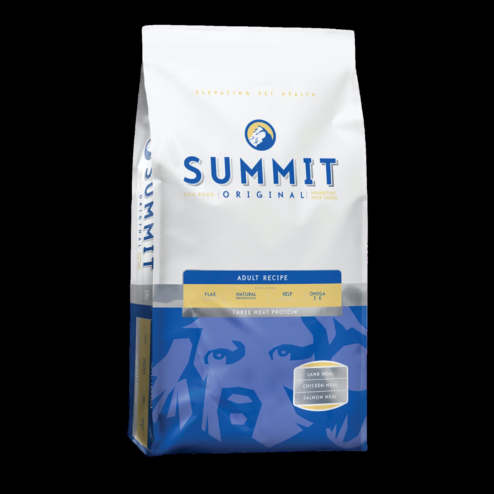 Summit Three Meat Adult Recipe 28lb