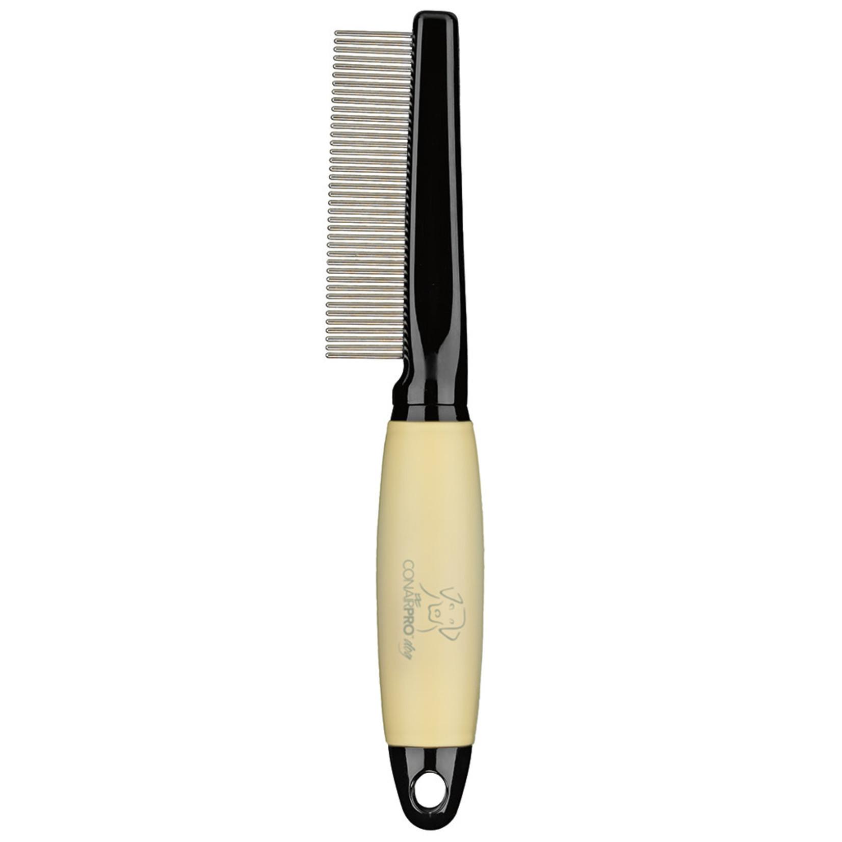 Memory Gel Handle Medium Dog Comb
