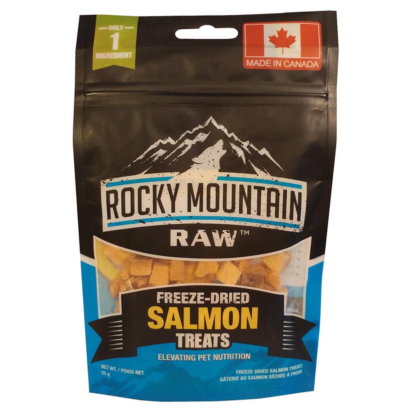 Rocky Mountain Dog treat freeze dried salmon 25 g