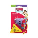 Kong Kong Crackles Cheese & Mouse Cat Toy