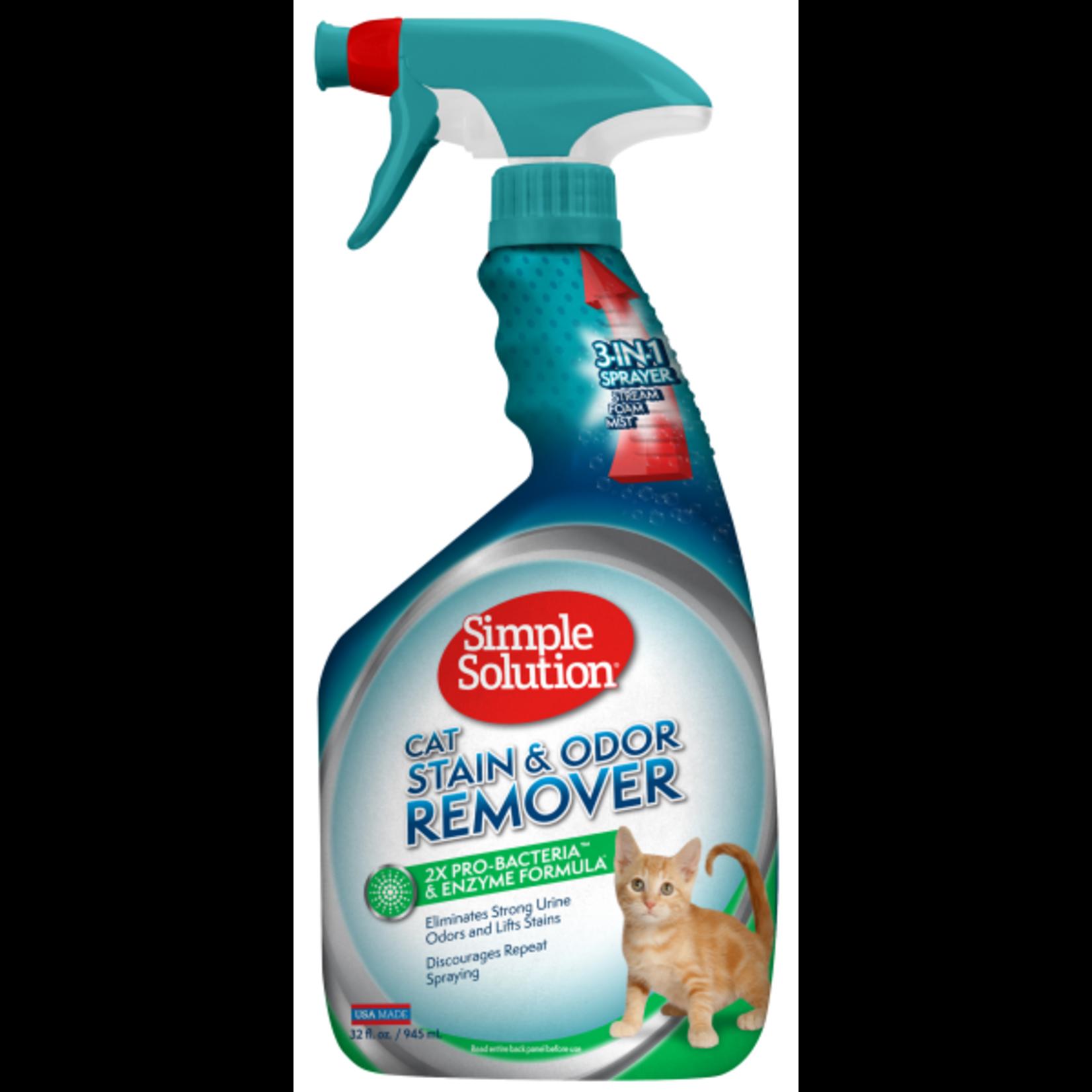 Stain & Odor remover spray 32 oz cat
