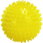 """Be one Breed Be one Breed Yellow Spike Ball 3.5"""""""