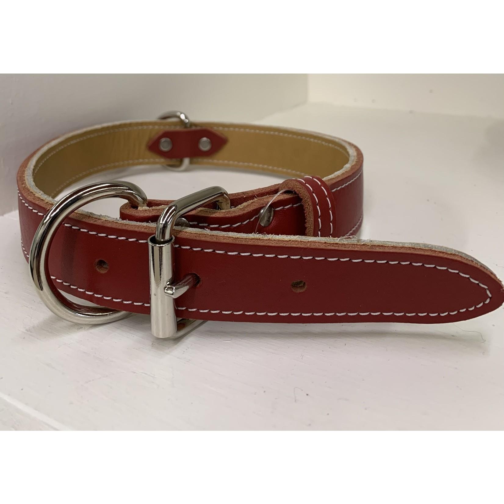 leather collar brick 1/2 x 12in