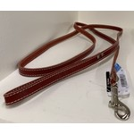 Lacets Arizona Leather lead Red 1/2 x 72in