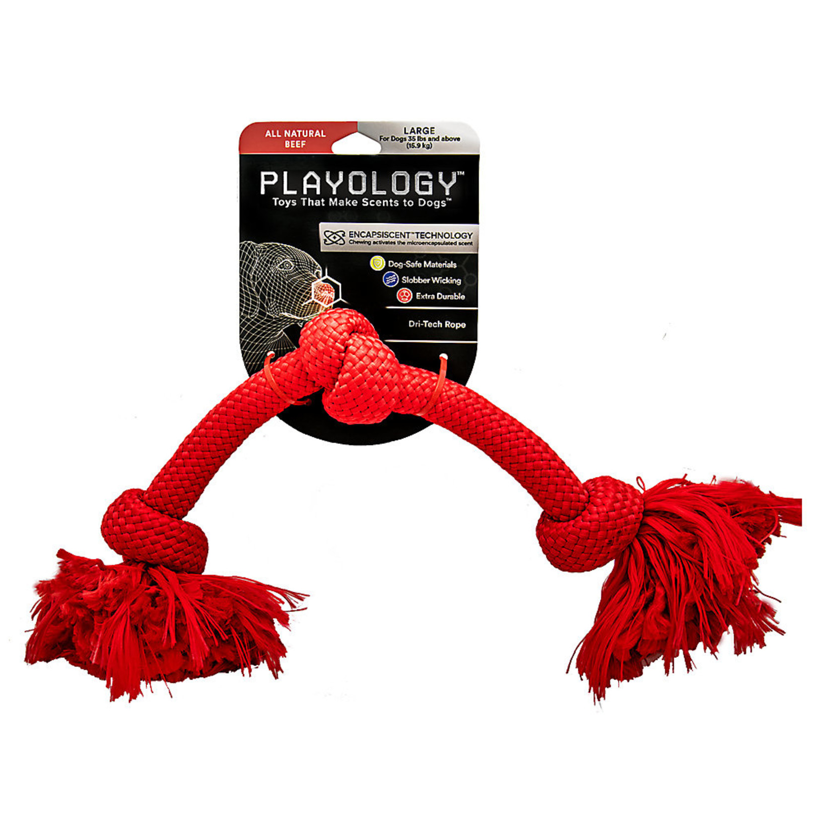 Playology Scented Chew Rope Beef