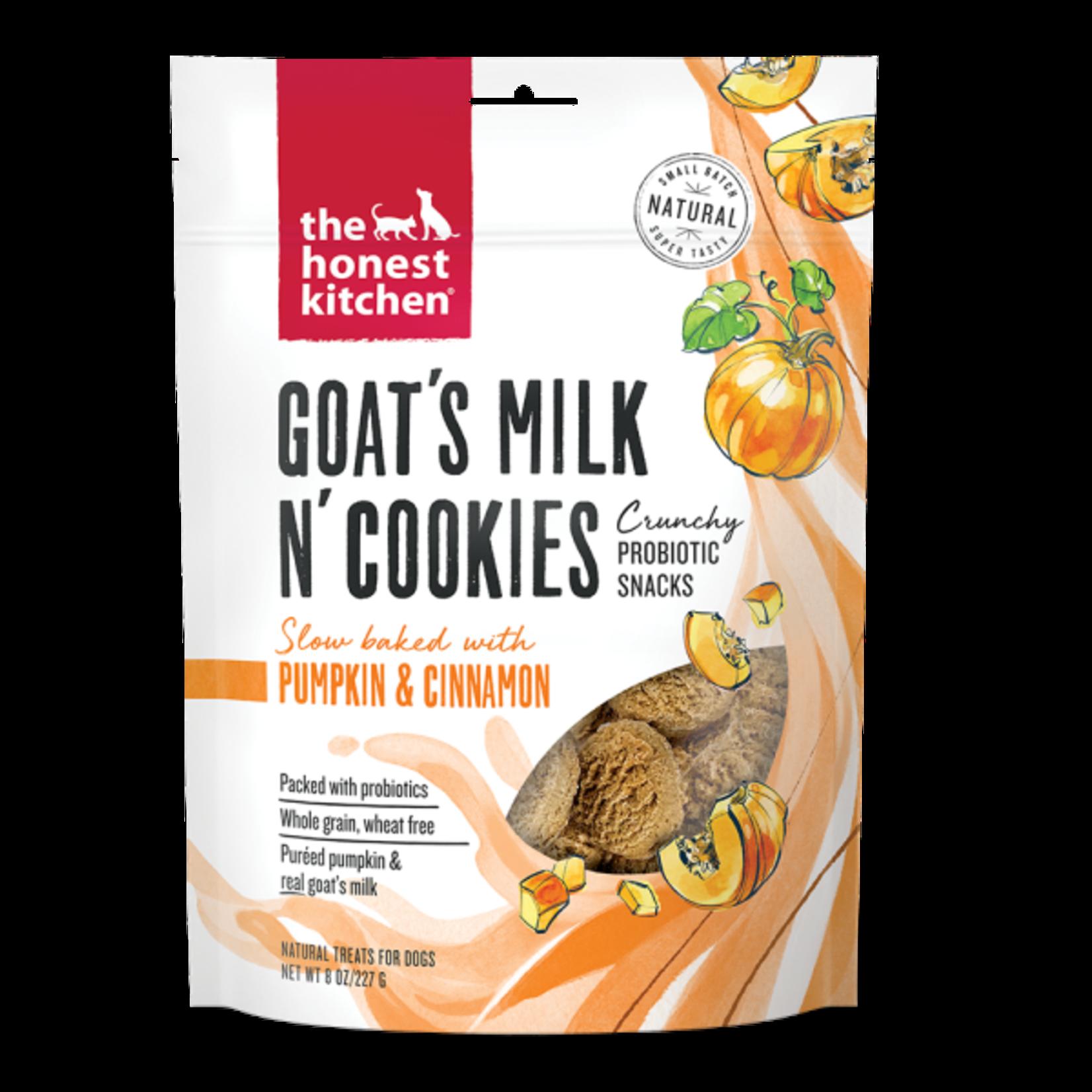 Honest Kitchen HK Dog Goats Milk Cookies W Pumpkin & Cinnamon 8oz