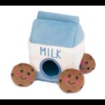 Zippy paws ZP Burrow Squeaker Millk & Cookie