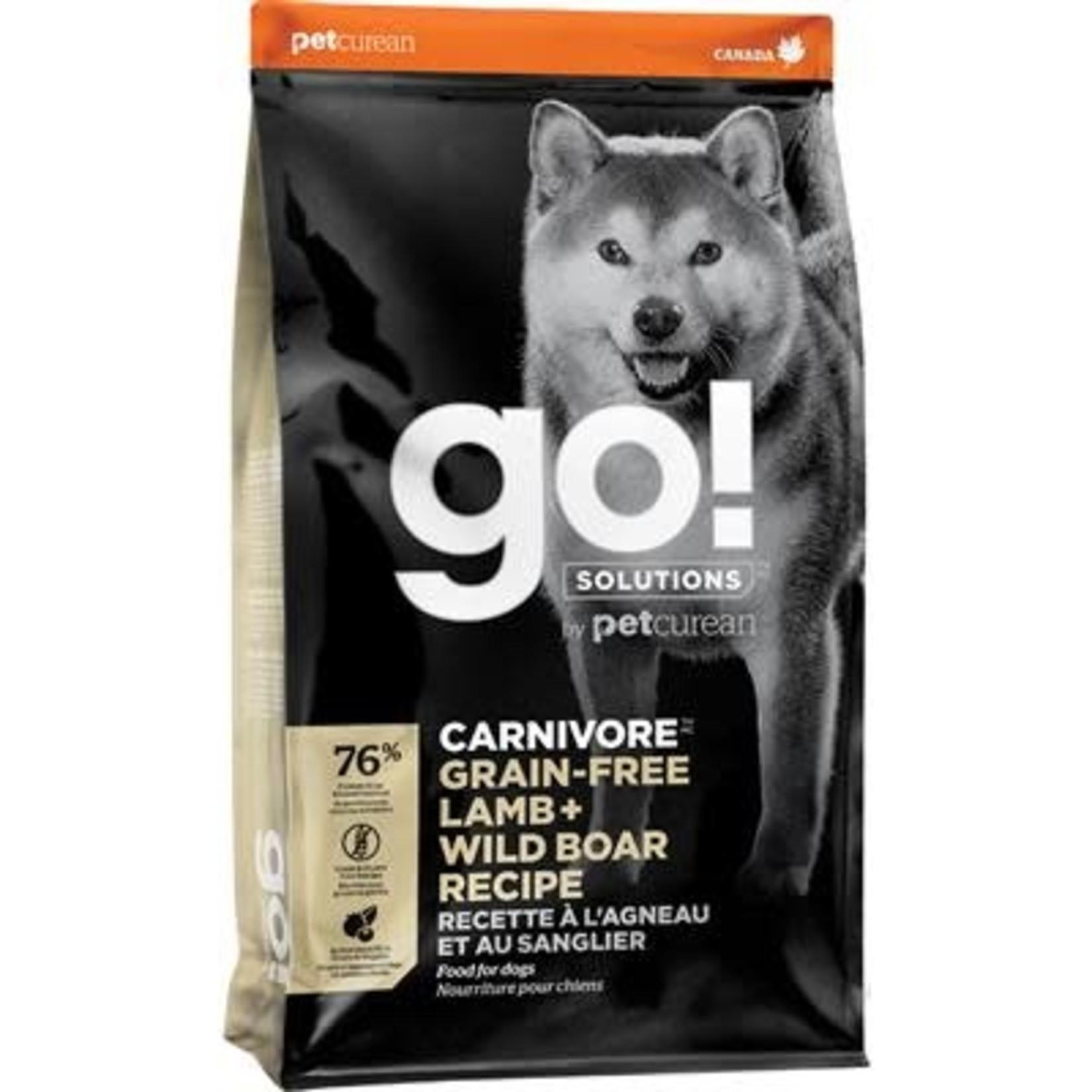 Go! Go!Dog Carnivore Grain free lamb & Wild Boar