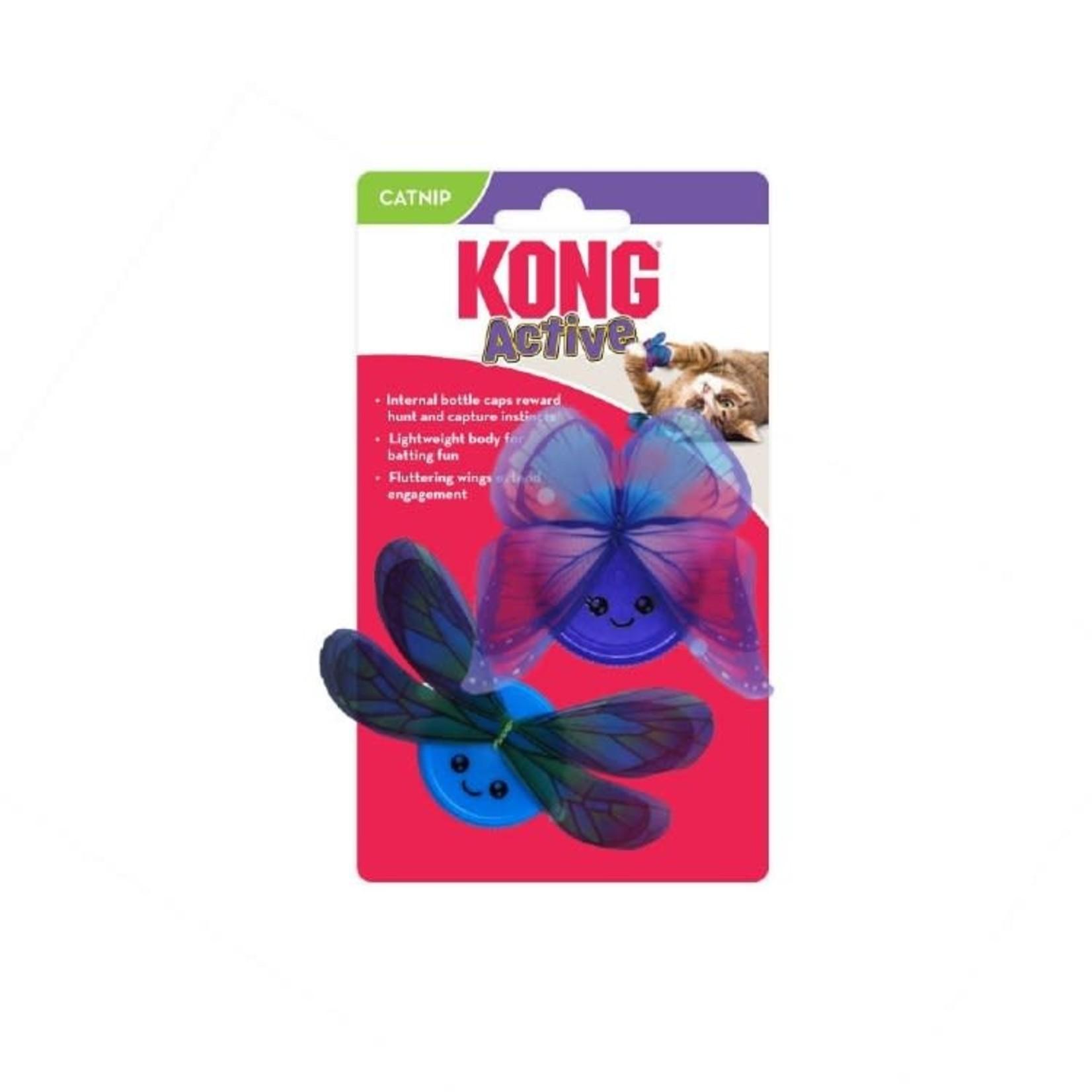 Kong Kong Catnip Active 2pk