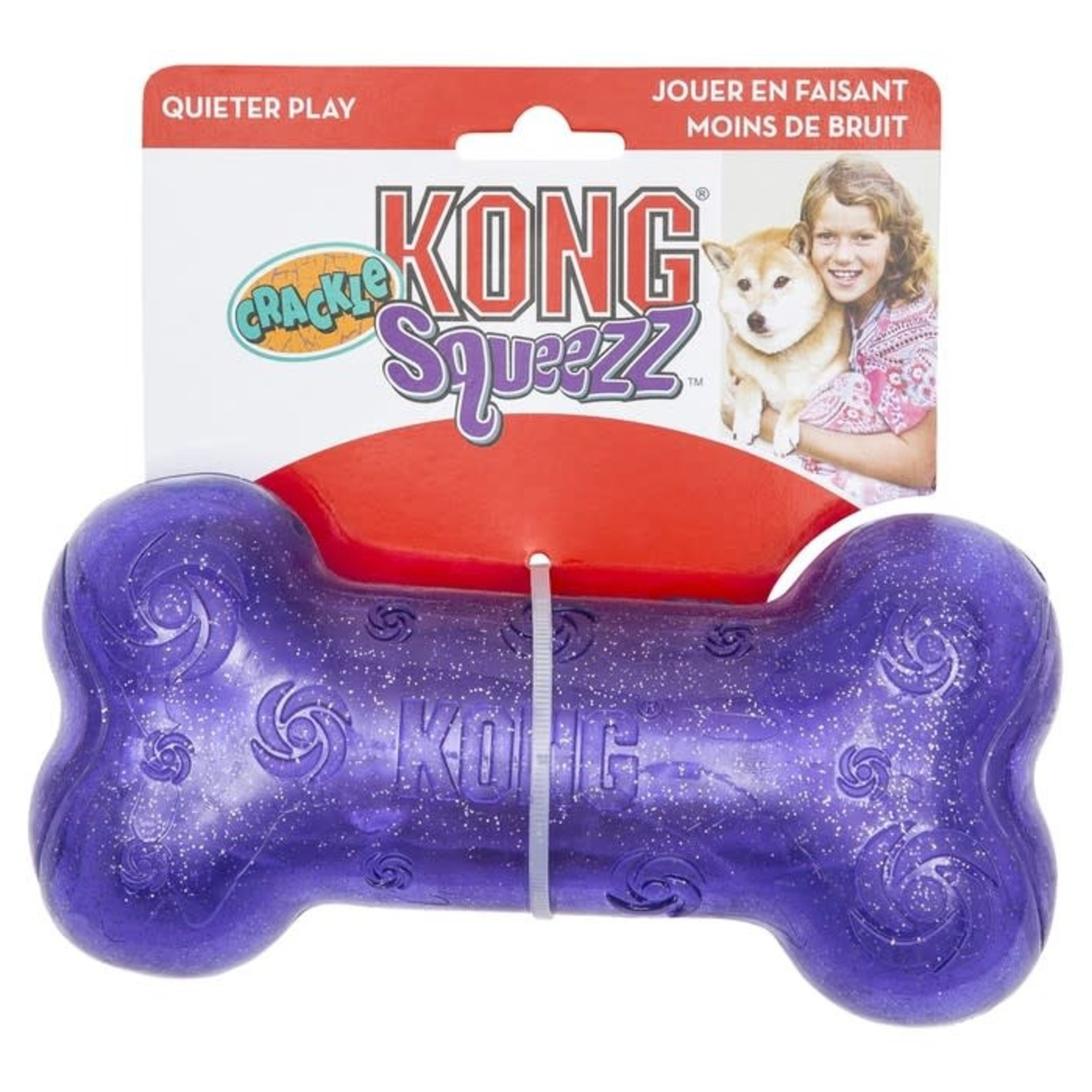 Kong Kong Squeezz Crackle Purple
