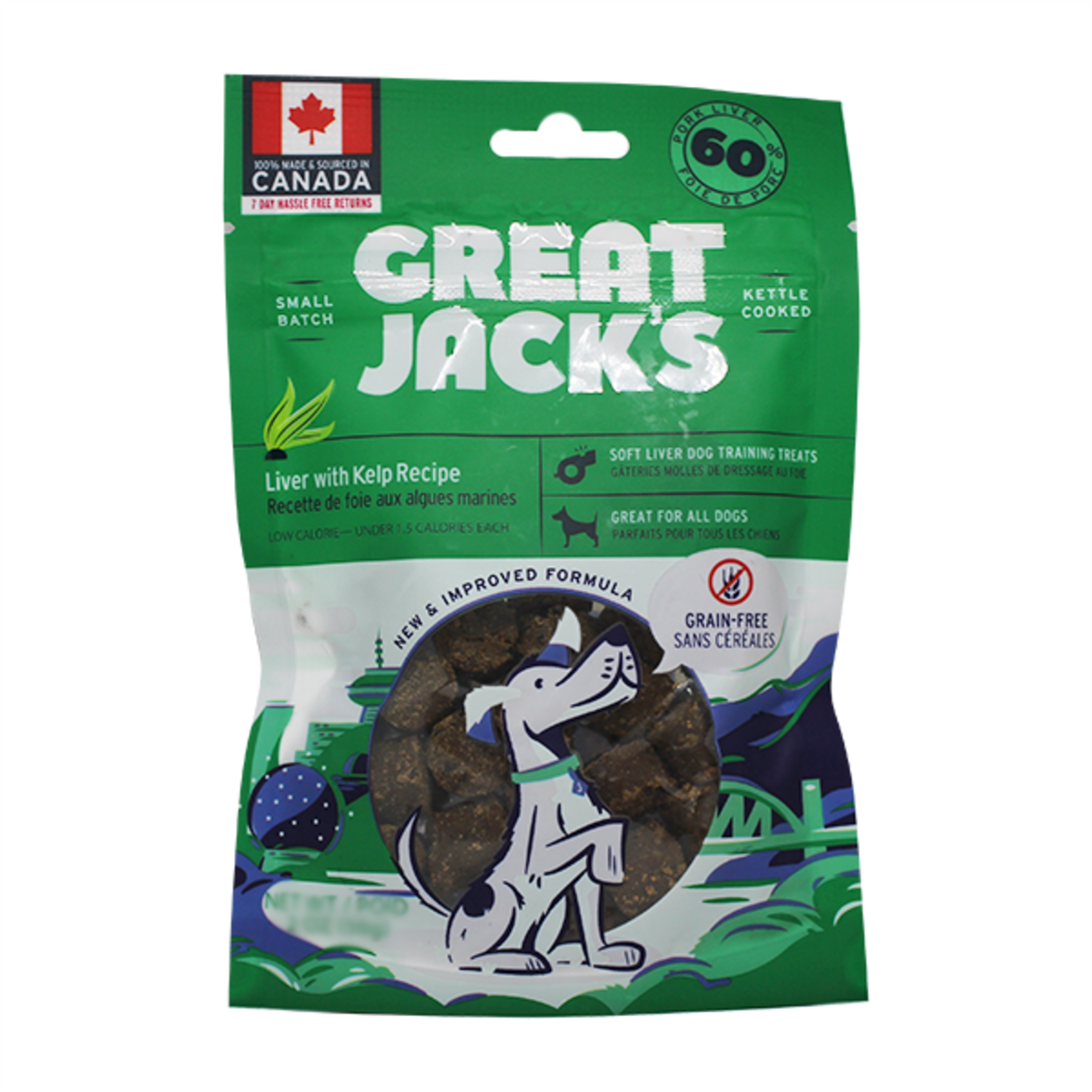 Great Jack's Great Jack's Liver with Kelp 56g