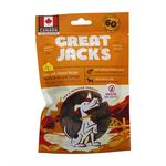 Great Jack's Great Jack's Dog treat big bits  GF liver & cheese 56g