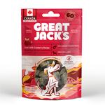 Great Jack's Great Jack's Dog treat big bits GF liver & cranberry 56g