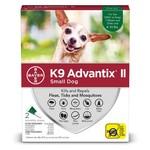 K9 Advantix II Dogs Complete protection Tick and Flea 2 dosage