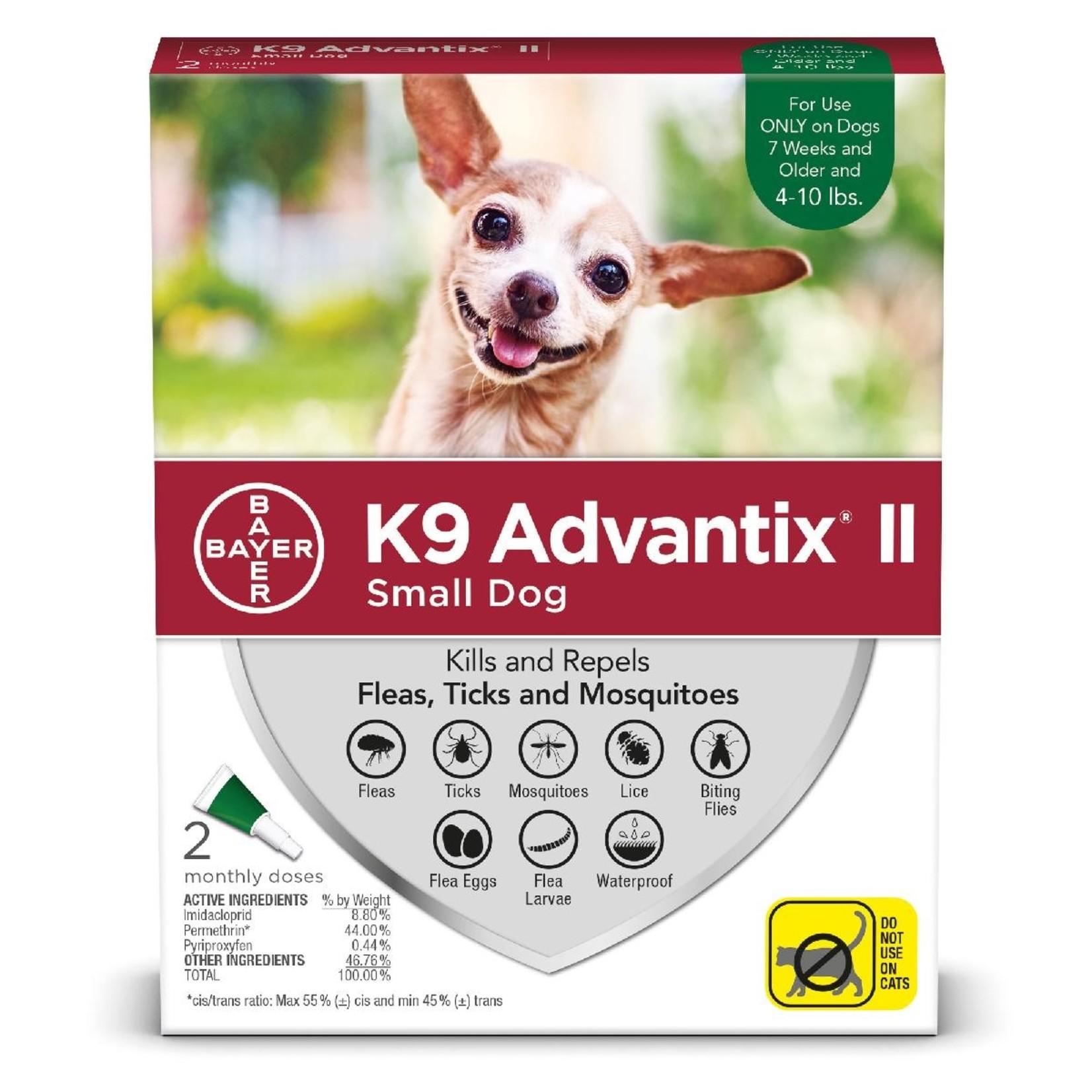 Advantix II Dogs Complete protection Tick and Flea 2 dosage