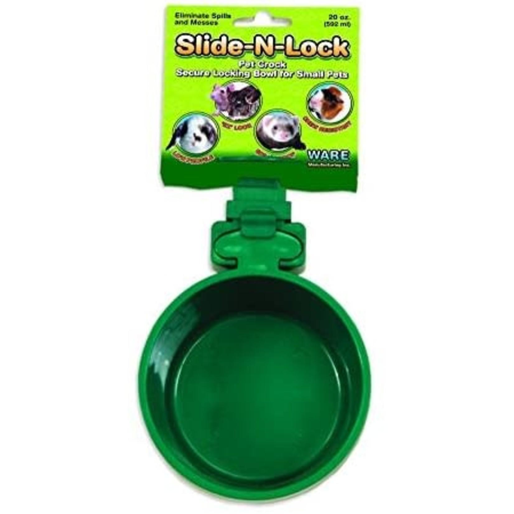 Slide-N-Lock Pet Crock 10oz