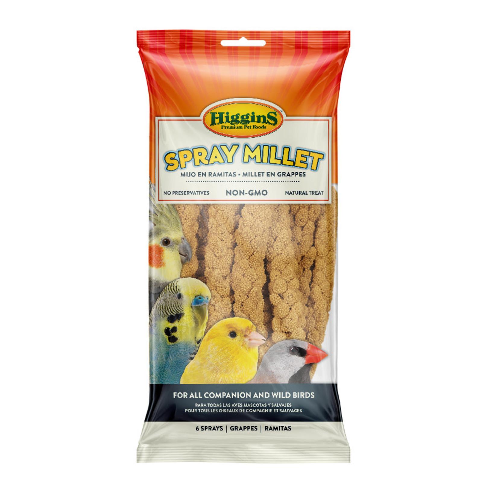 Spray Millet for All Companion & Wild Birds 6 Sprays
