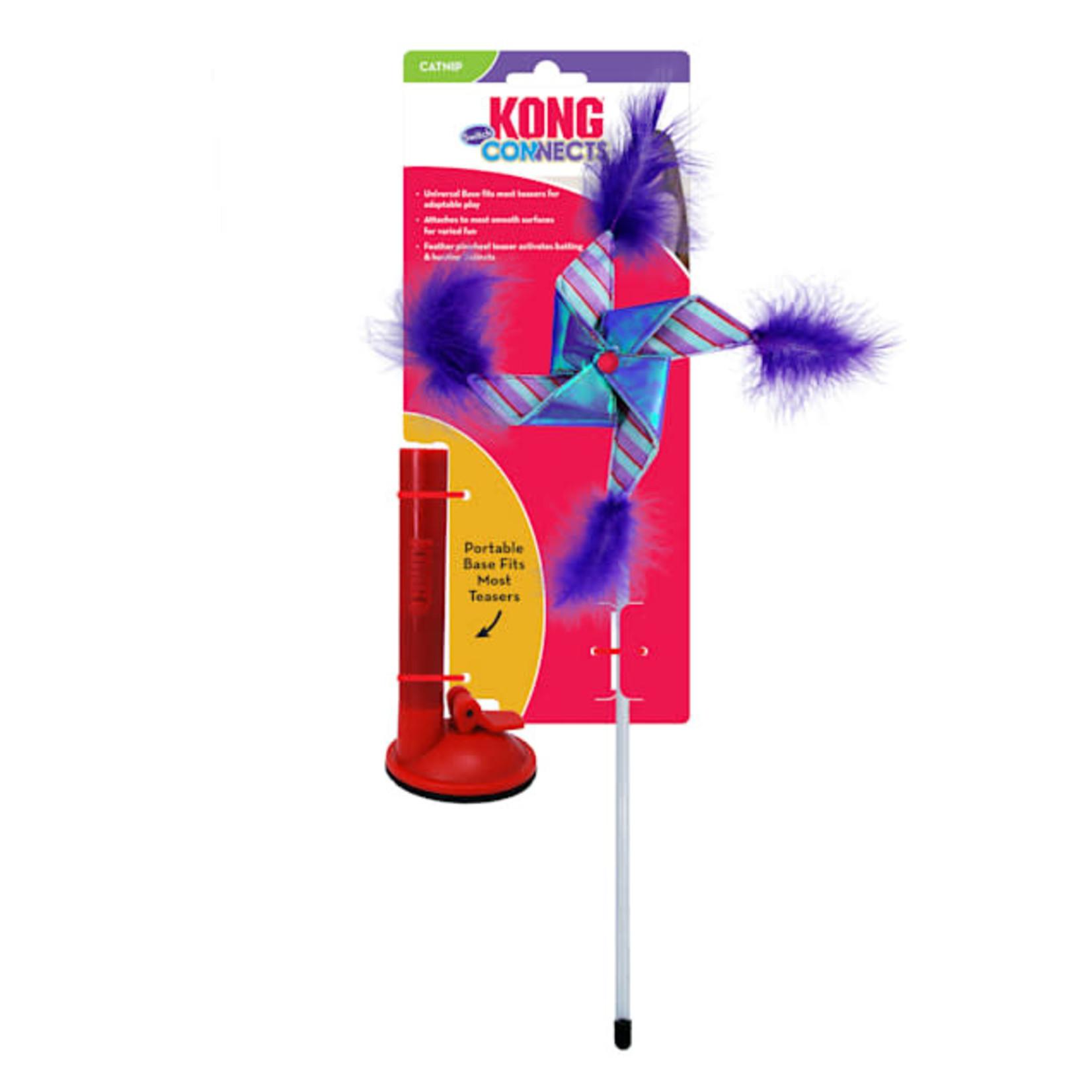 Kong Kong Connects Switch Pinwheel Cat Teaser