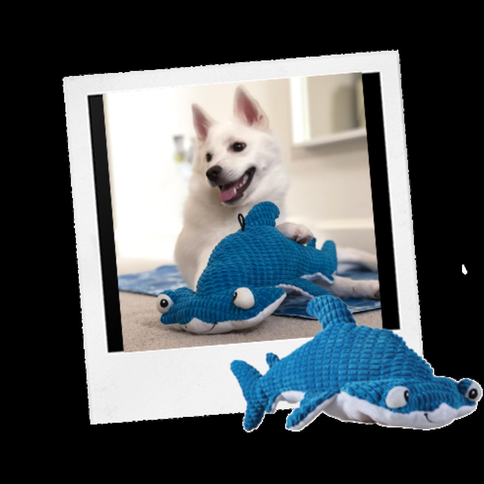 Tender tuffs Shark Dog Toy