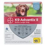 K9 Advantix II Tick & Flea Protection Over 25KG 4 dosage (4 month)
