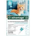 Bayer K9 Advantage Tick & Flea Drops For kittens 4 Dosage