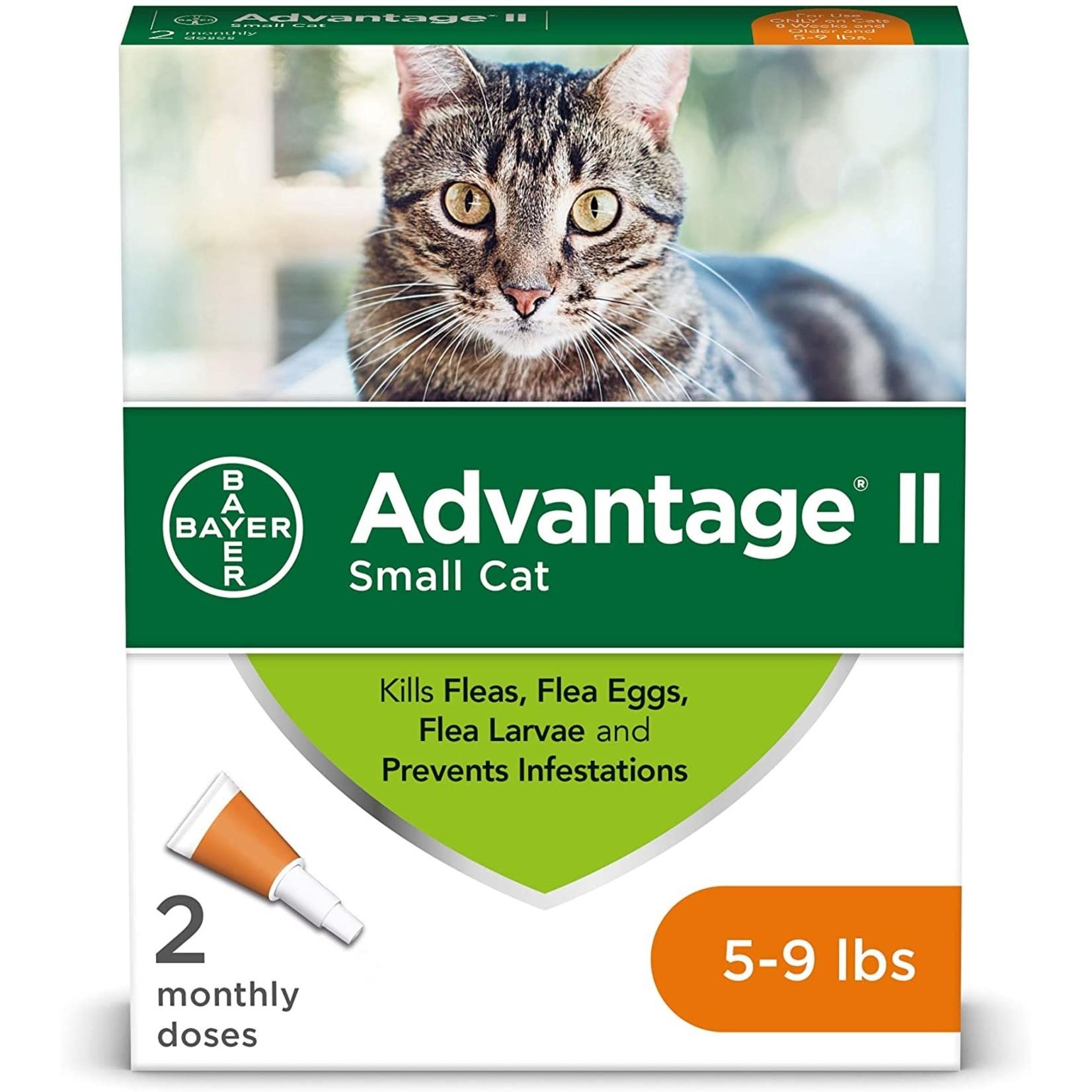 Bayer K9 Advantage Tick & Flea Drops For Cats 2 Dosage