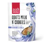 Honest Kitchen HK Dog Goats Milk Cookies W Blueberries & Vanilla 8oz