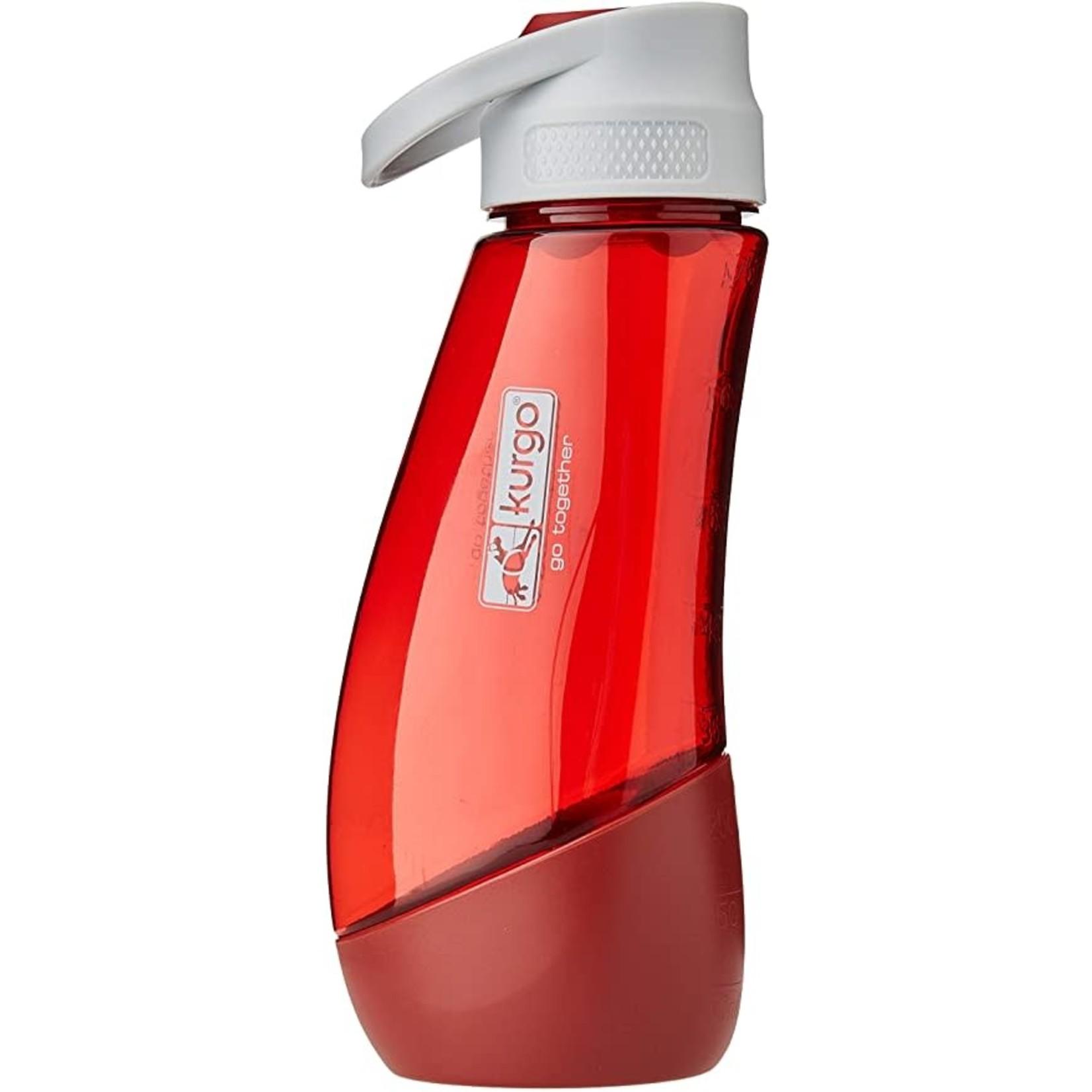 Kurgo Kurgo Water Bottle and Bowl Red