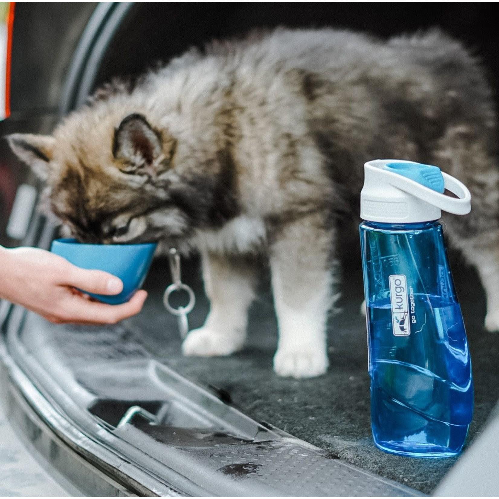 Kurgo Kurgo Water Bottle and Bowl Blue