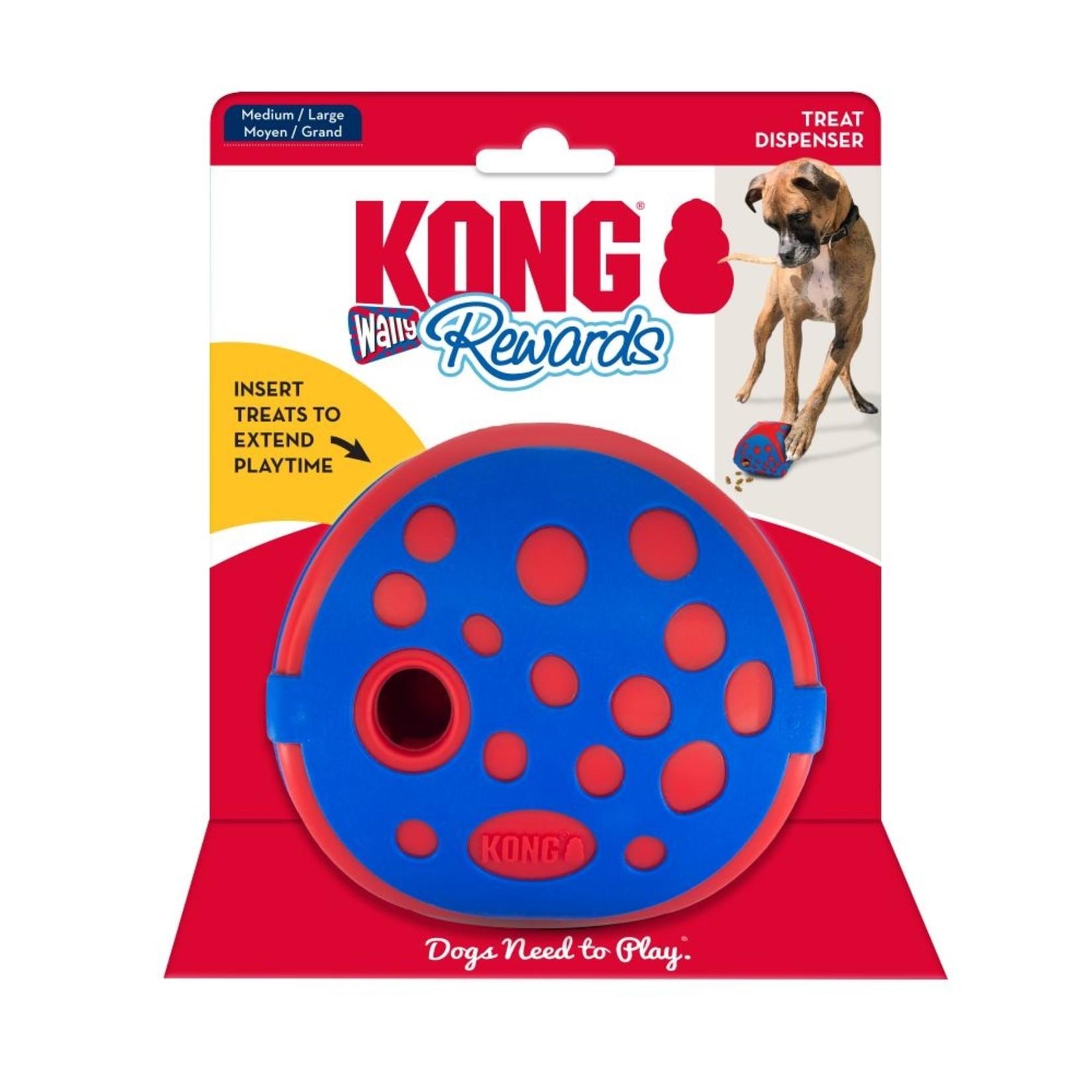 Kong Kong Wally treat dispenser ball