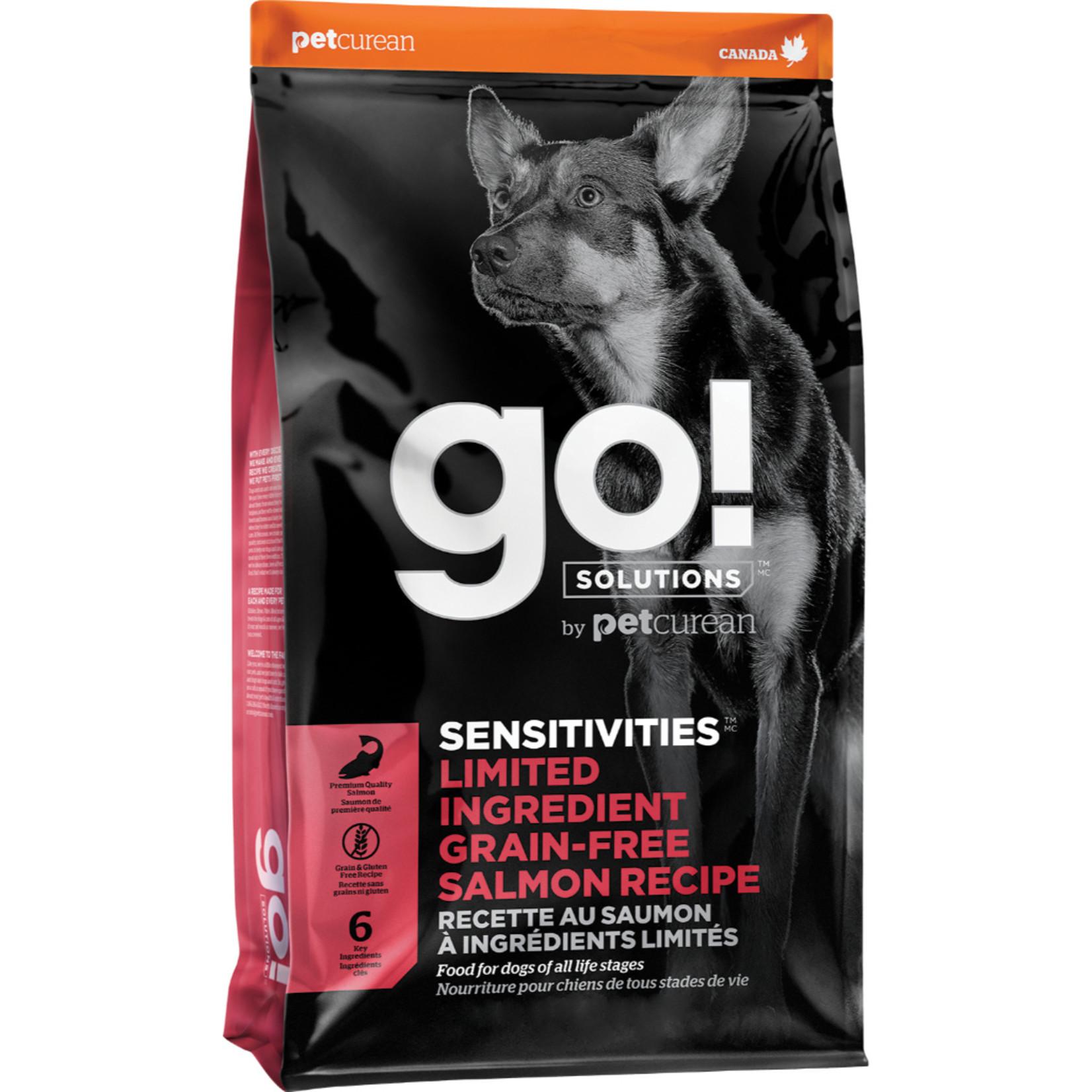 Go! Go! Sensitivities LID grain free Salmon