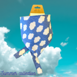 Hand Mades By Mom Summer Collection Clouds Bandana XS-S