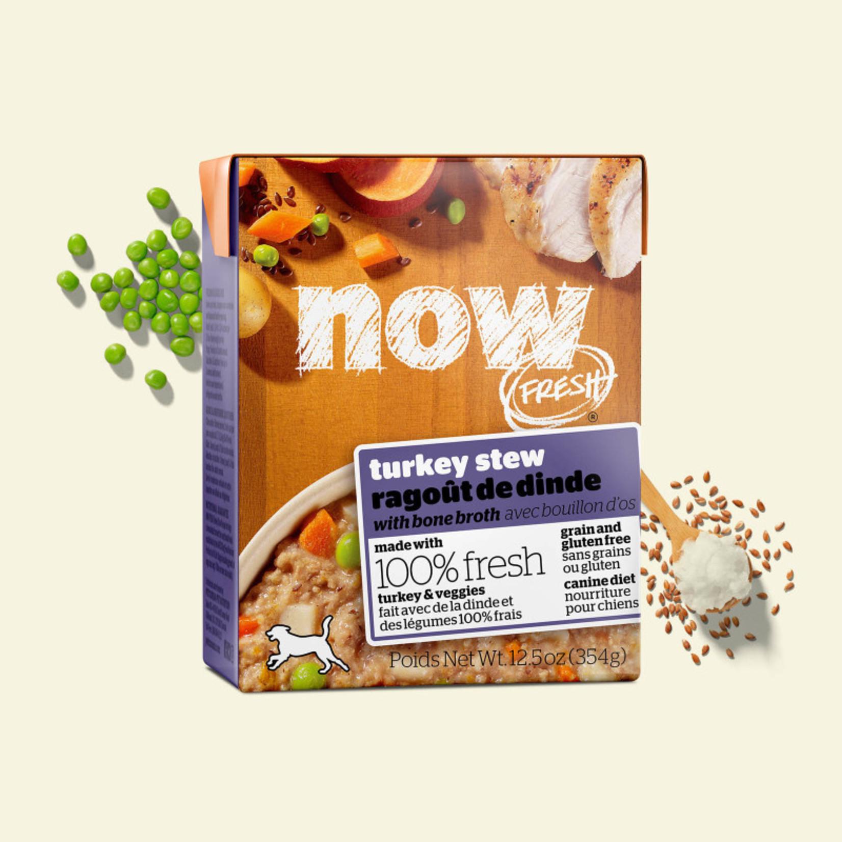 NOW Fresh NOW Fresh dog can food turkey stew with bone broth