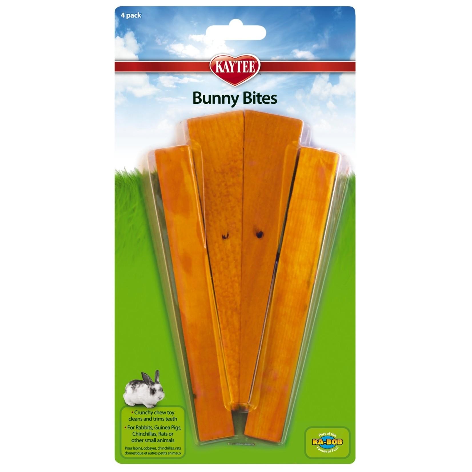 KAYTEE Kaytee Bunny Bites Carrot 4pk