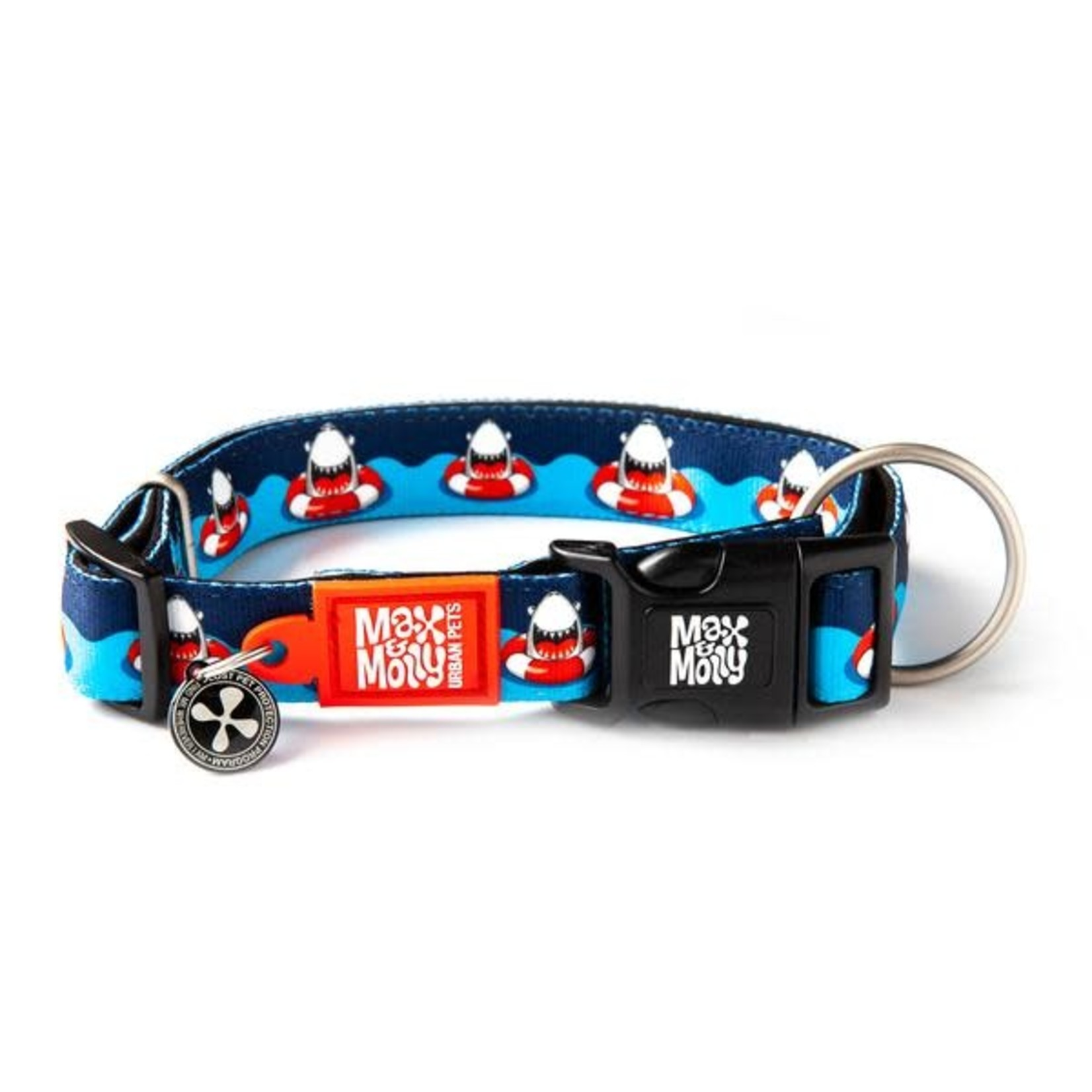 Max & Molly Max & Molly Shark Smart ID Collar