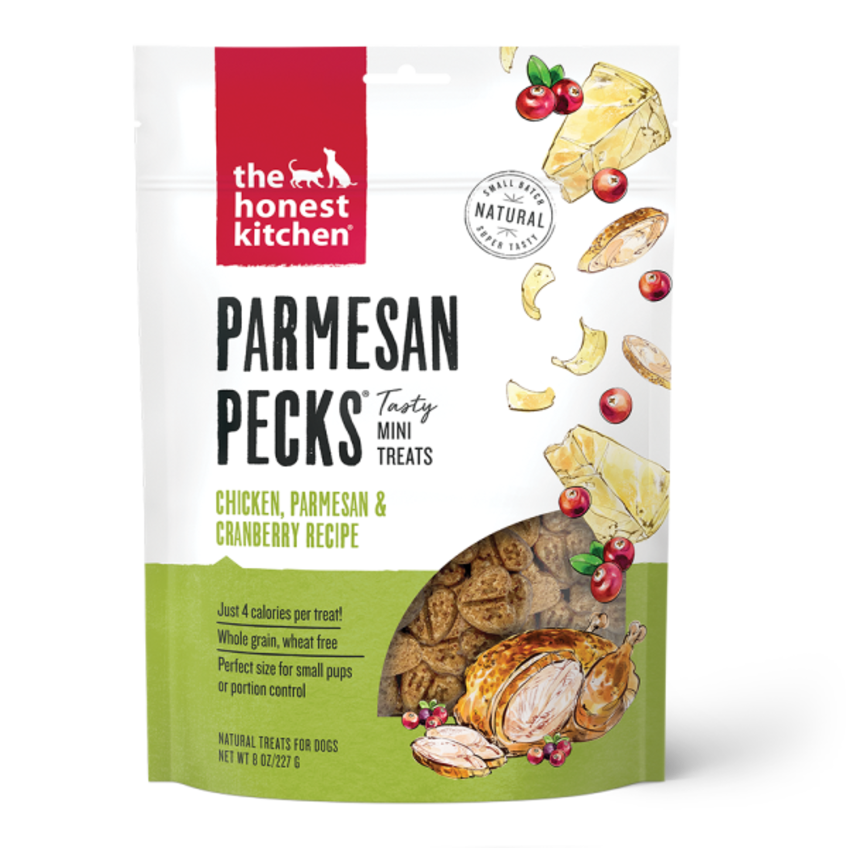 Honest Kitchen HK Parmesan Pecks Chicken Parmesan & Cranberry 8oz