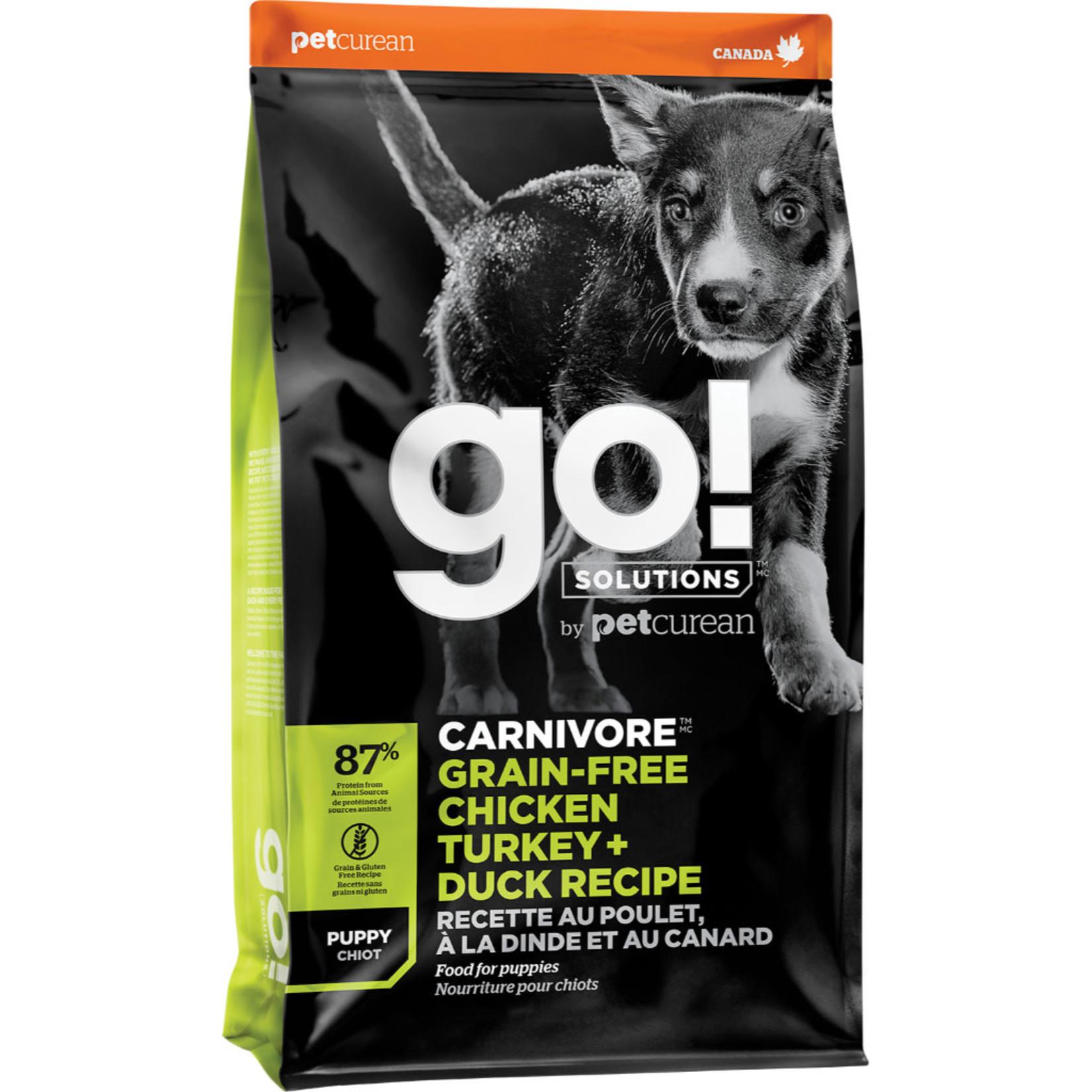 Go! Go! Puppy GF Chicken+ Turkey + Duck