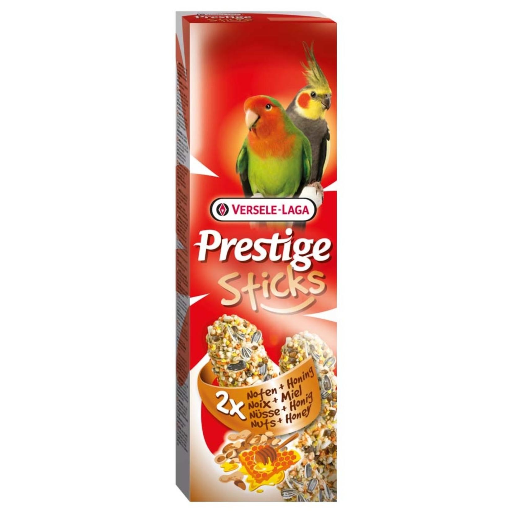 Versele-Laga Prestige Stick for Parakeet Nuts & Honey 2x70g