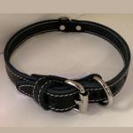 Lacets Arizona Leather Collar Black