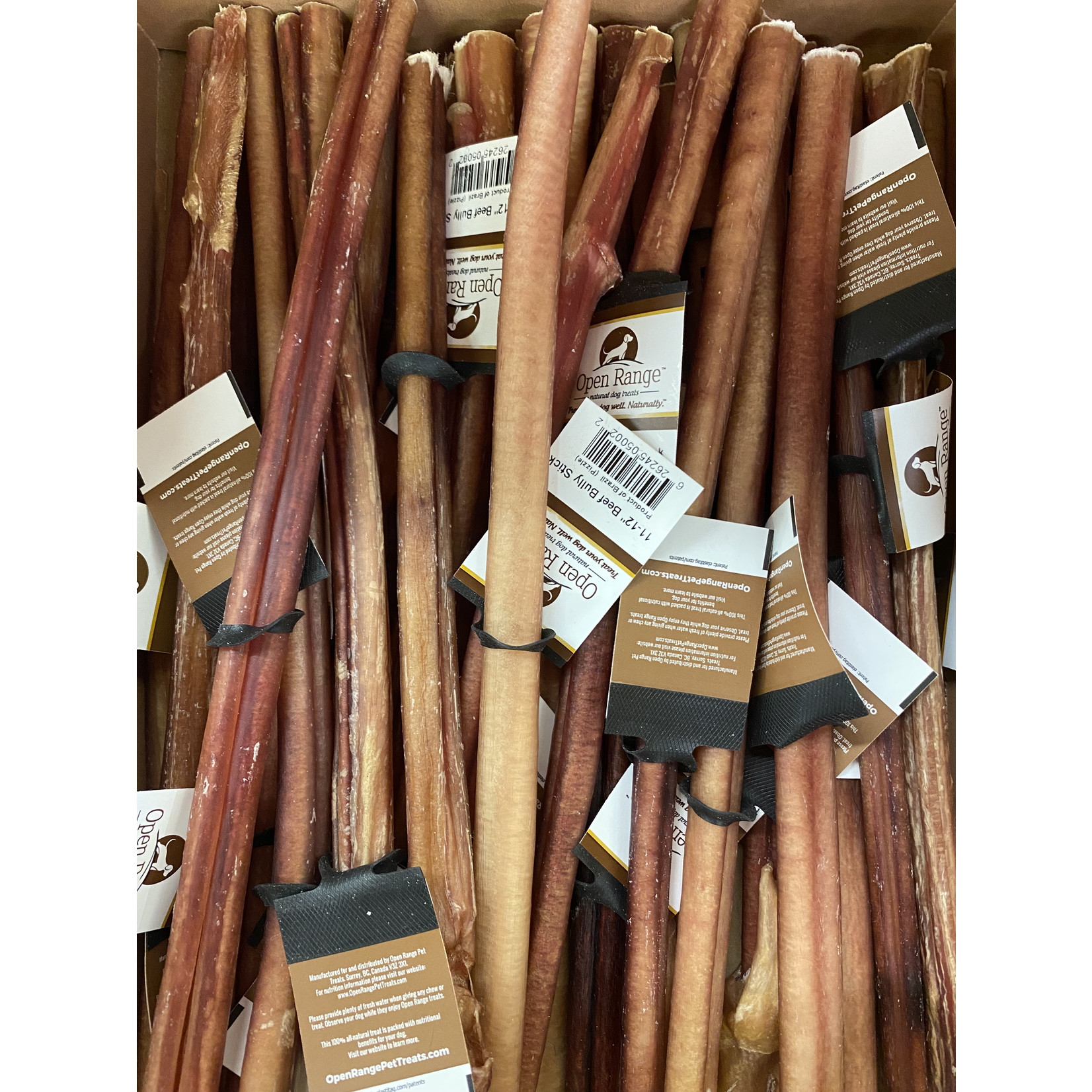 """Open Range Open Range Odour Controlled thick Bully Stick 11_12"""""""