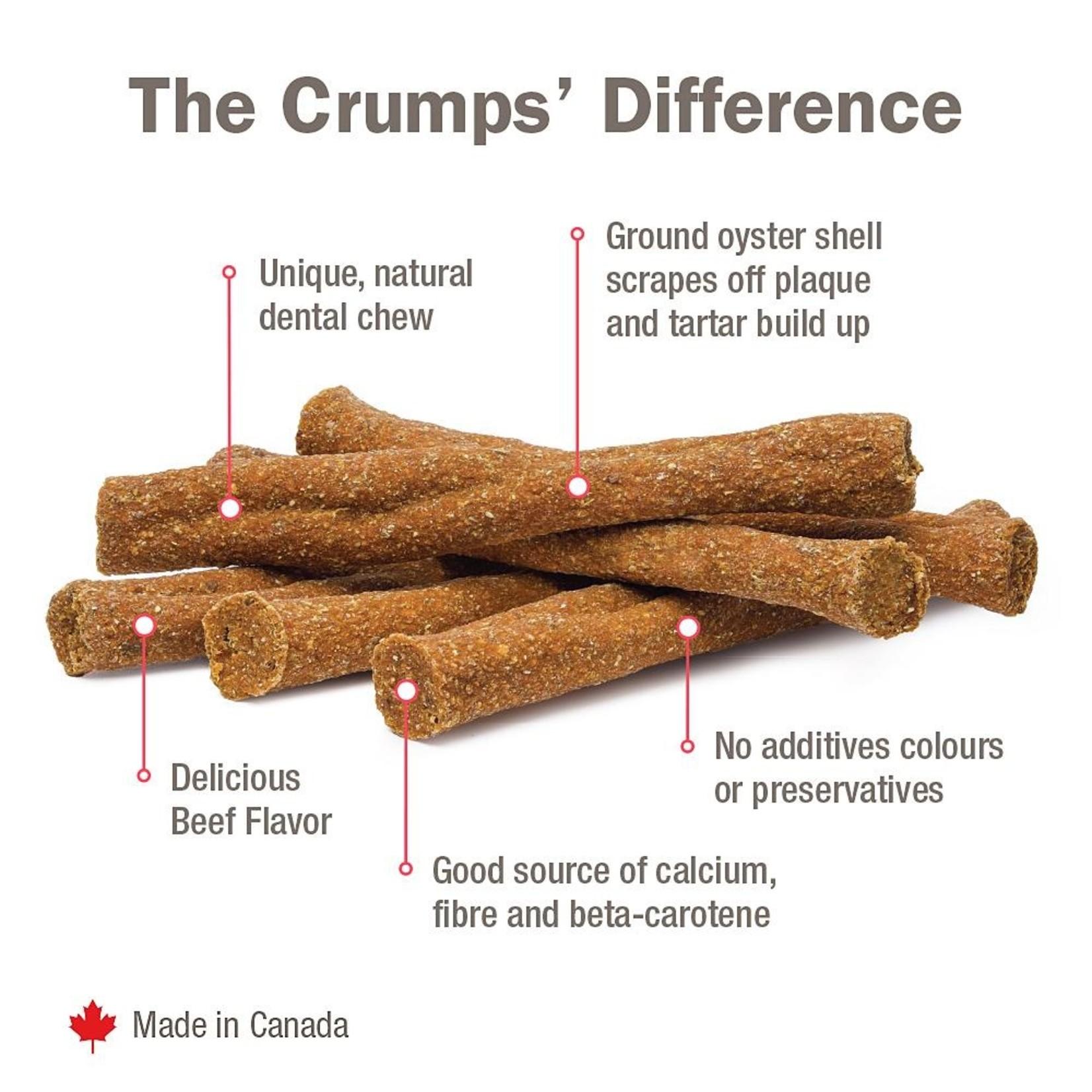 """Crumps' Naturals Crumps' Naturals Plaque Buster Beef Stick 7"""""""
