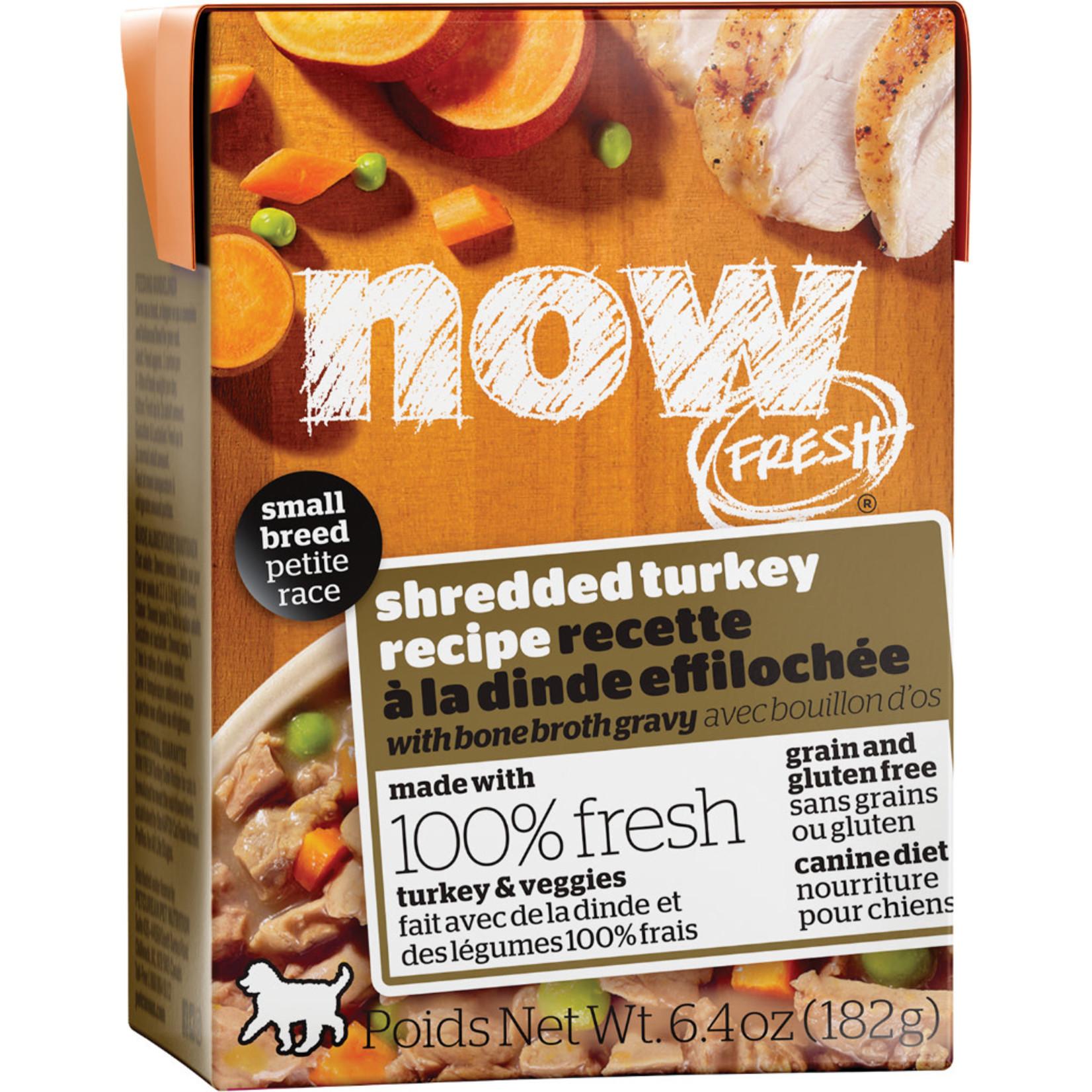 NOW Fresh Now Fresh dog can Turkey W Bone broth Small breed 6.4oz