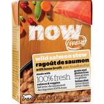 NOW Fresh Now Fresh Cat Can Salmon Stew W Bone Broth   6.4oz