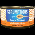 Scrumptious Scrumptious Cat Can Tuna W Pumpkin in Gravy 2.8oz