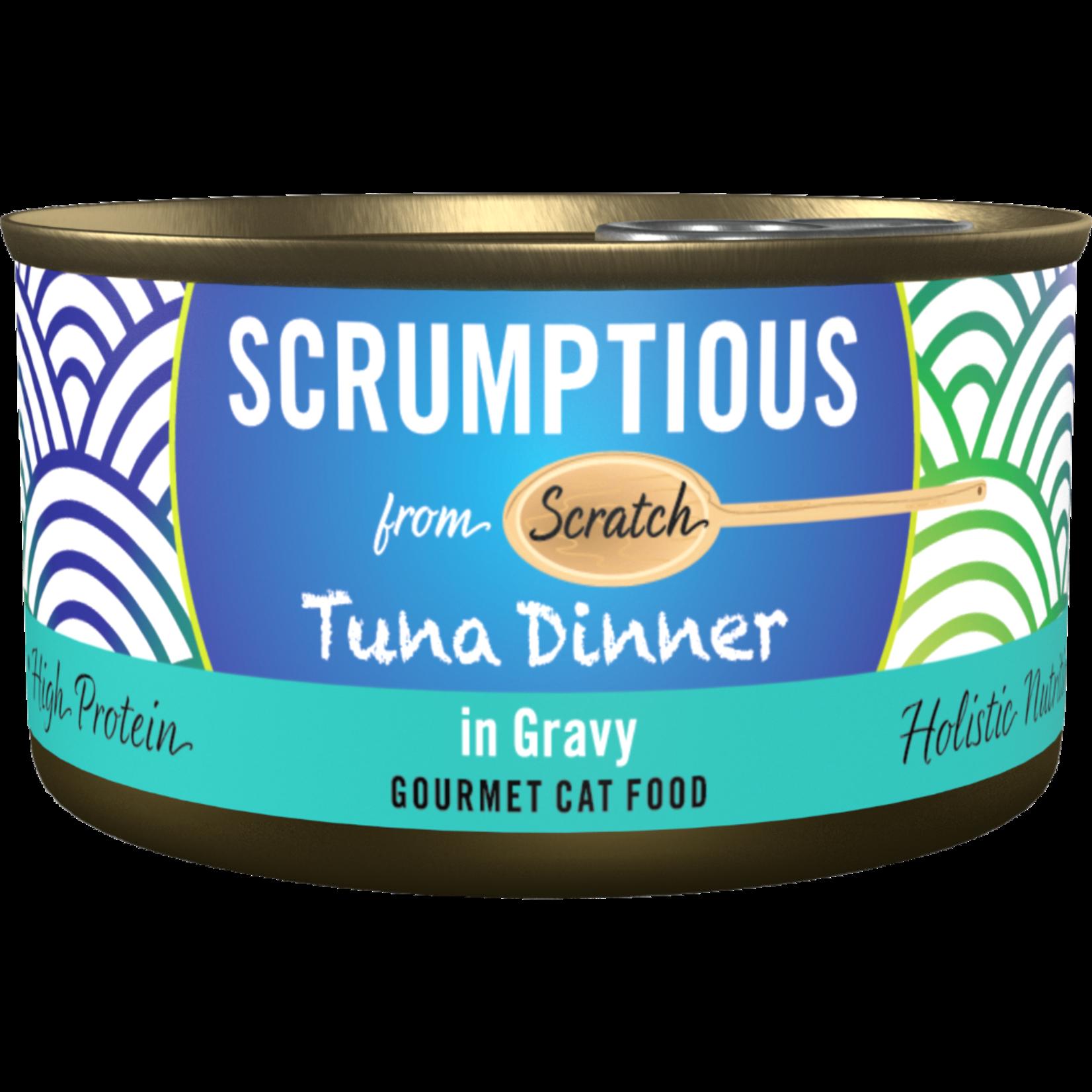Scrumptious Scrumptious Cat Can Tuna in Gravy 2.8oz