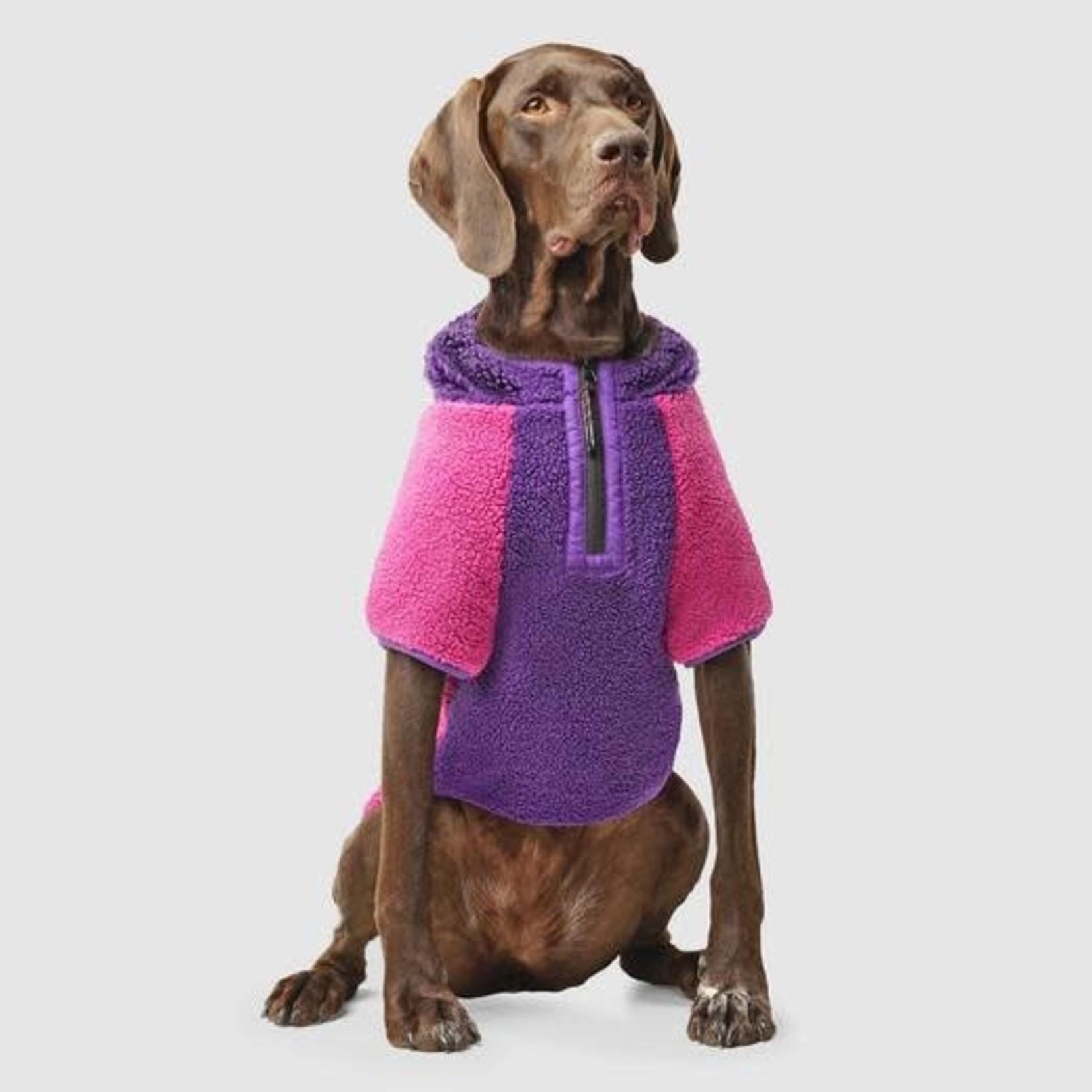 Canada Pooch Canada Pooch Cool Factor Hoodie Pink & Purple