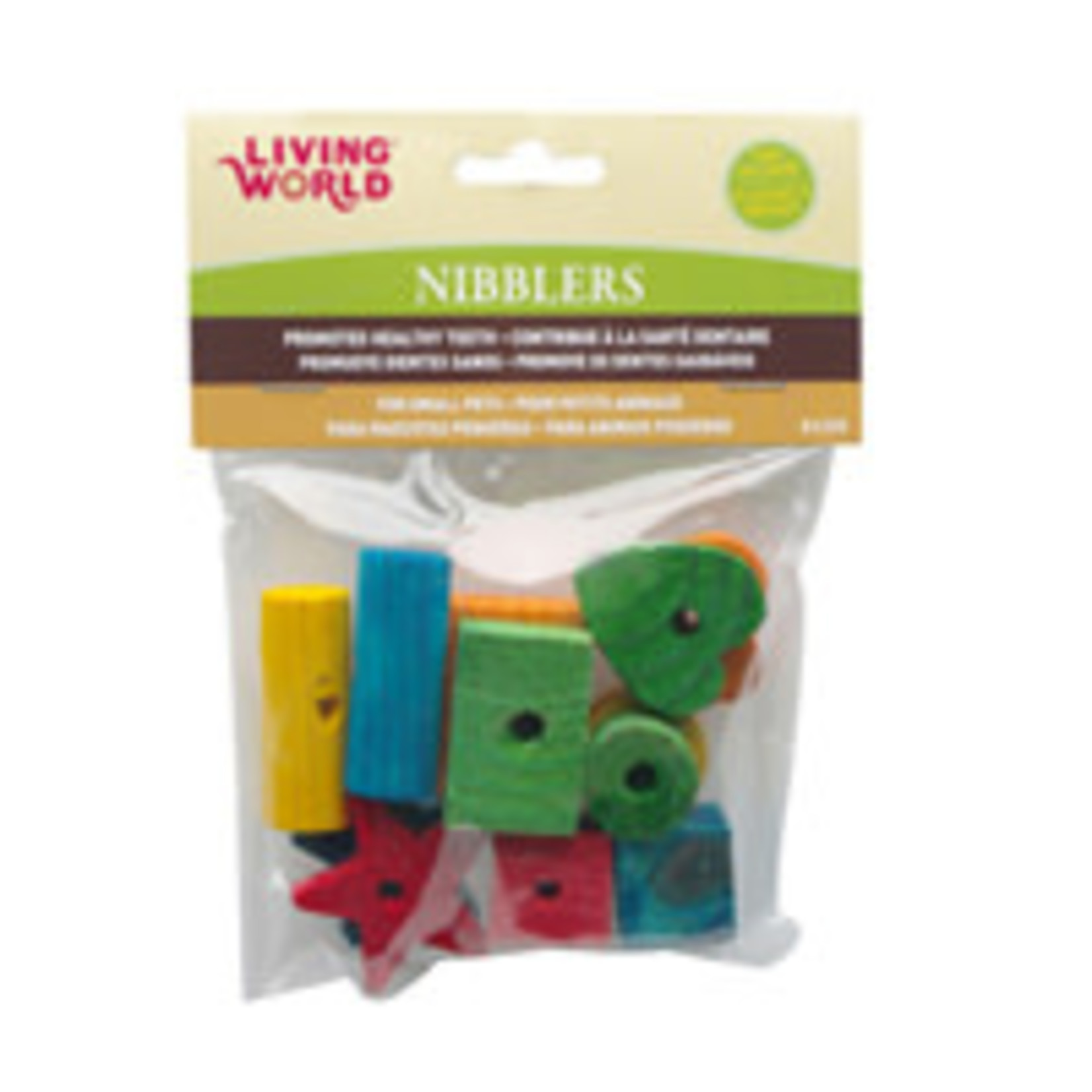 LW Nibblers Wood Chew Toys