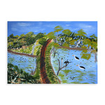 Wanda Gibson, Bush Road Original Painting