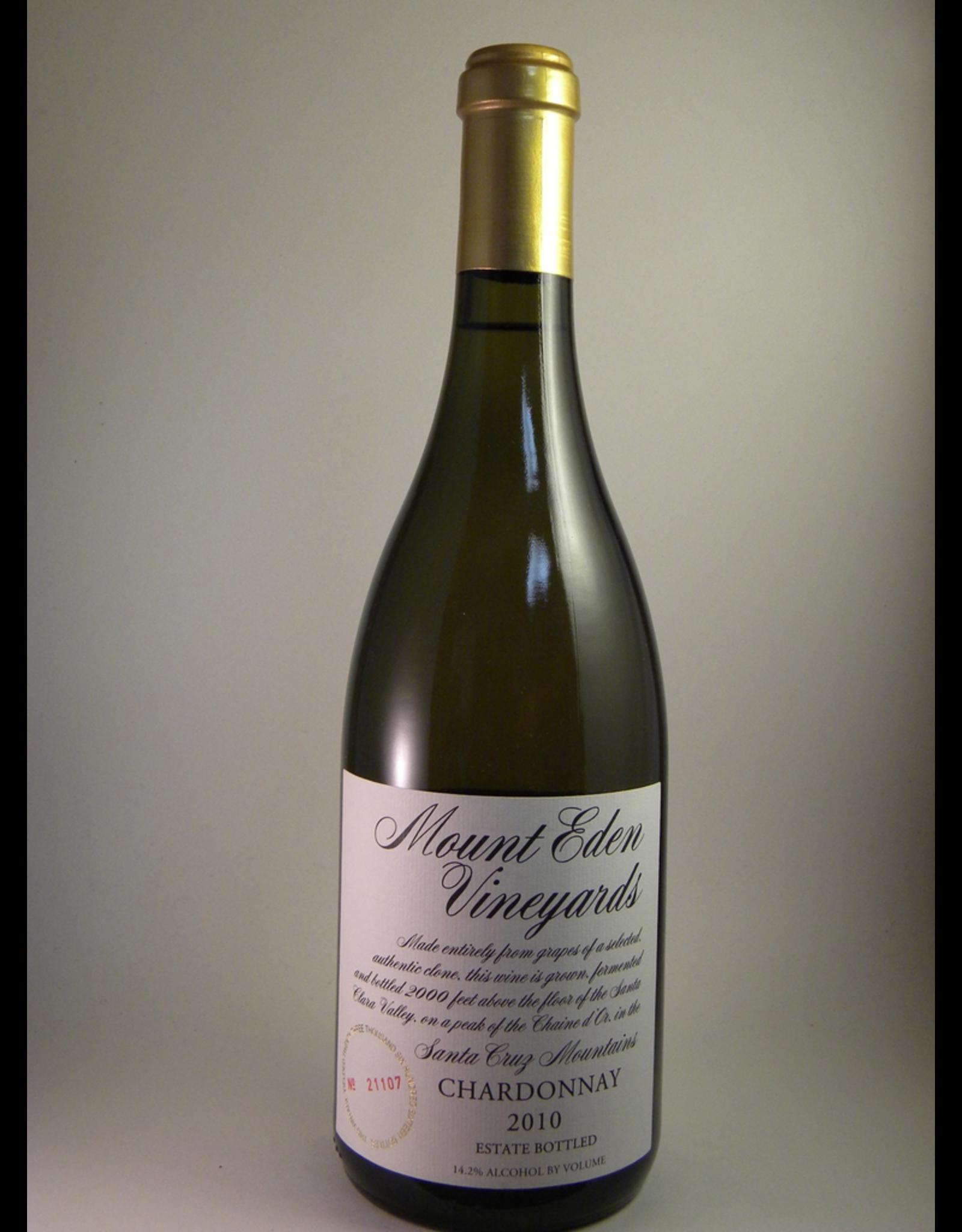 Mount Eden Mount Eden Vineyards Chardonnay Santa Cruz Estate 2017